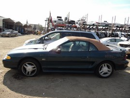 1995 FORD MUSTANG GT GREEN CONVERTIBLE 5.0L AT F17010