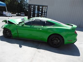 2019 FORD MUSTANG ECOBOOST W/PERFORMANCE PKG GREEN 2.3 TURBO AT F19078