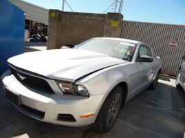 2010 FORD MUSTANG SILVER CPE 4.0L AT F17011