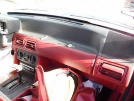 1989 FORD MUSTANG LX RED CONV 2.3L AT F18051