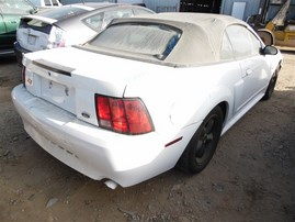 2001 FORD MUSTANG GT CONVERTIBLE 4.6 MT F20094