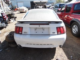 2003 FORD MUSTANG COUPE MACH 1 WHITE 4.6 MT PREMIUM F20109