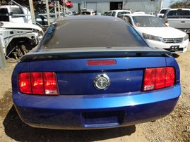 2005 FORD MUSTANG BASE COUPE BLUE 4.0 AT F21118