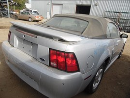 2002 FORD MUSTANG SILVER CONV 3.8L AT F17015