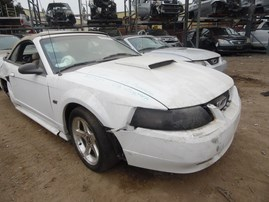2003 FORD MUSTANG GT WHITE CONV 4.6L AT F17017