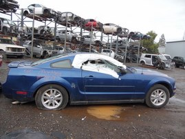 2008 FORD MUSTANG BLUE CPE 4.0L AT F18018