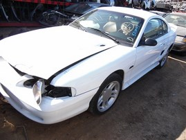 1996 FORD MUSTANG COUPE GT WHITE 4.6 AT F20097