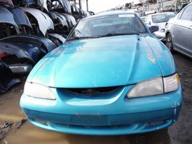 1995 FORD MUSTANG TEAL CPE 3.8L MT F18020
