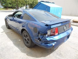 2007 FORD MUSTANG COUPE BLUE 4.0 AT PONY PACKAGE F20099