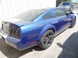 2005 FORD MUSTANG BASE COUPE BLUE 4.0 AT F20100