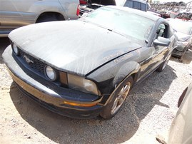 2006 FORD MUSTANG COUPE GT BLACK 4.6 MT F20101