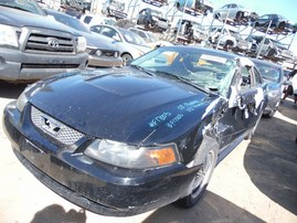 2003 FORD MUSTANG BASE BLACK 3.8L AT F17005
