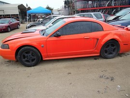 2004 FORD MUSTANG ORANGE 3.9 AT F19071