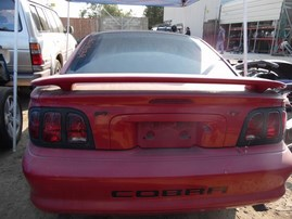 1997 FORD MUSTANG COBRA RED CPE 4.6L MT F18039