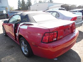 1999 FORD MUSTANG RED BASE CONV 3.8L AT F18041