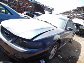 2003 FORD MUSTANG BLUE CPE 3.8L MT F18044