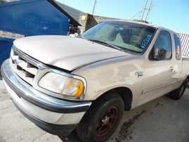 1998 FORD F-150 XLT BEIGE XTRA CAB 5.4L AT 2WD F17009